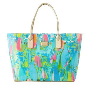 Lilly Pulitzer Breezy Tote Clear